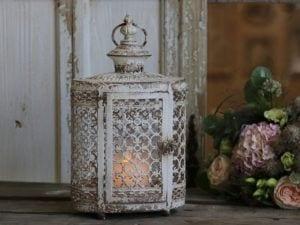 Chic Antique, Lanterne med perlekant