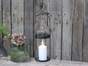 Chic Antique, Fransk flaske lanterne