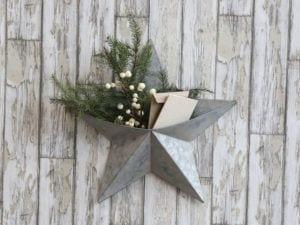 Chic Antique Stjerne til væg