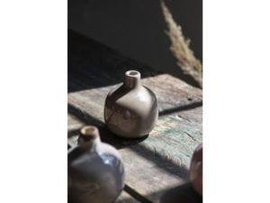 Glaseret Tunis vase jord