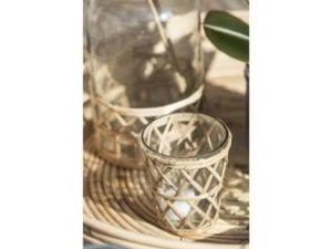 Glas til fyrfadslys