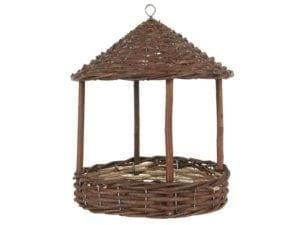 Fuglefoderhus rund