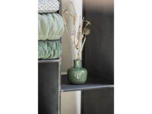 Vase krakeleret glasur grøn