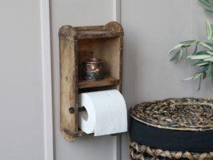 Toiletpapirholder af murstensform