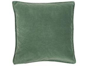 Pudebetræk velour grøn