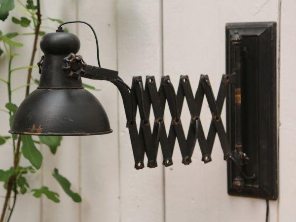 Factory Lampe til væg