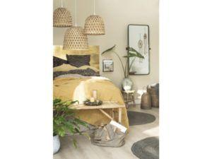 Hængelampe bambusskærm Ø:34 cm