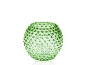 Anna Von Lipa krystal vase Light Green