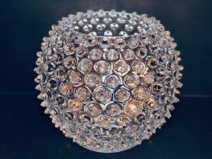 Anna Von Lipa krystal vase Crystal