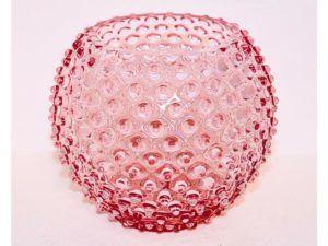 Anna Von Lipa krystal vase Rosa
