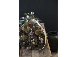 Blomst brunlige/grønne nuancer