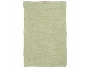 håndklæde mynte lysegrøn melange