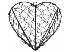 Hjerte t/ophæng tråd