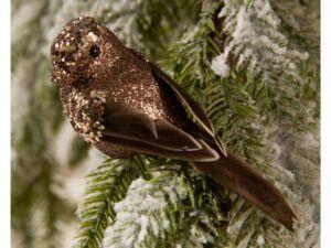 Deko fugl brun