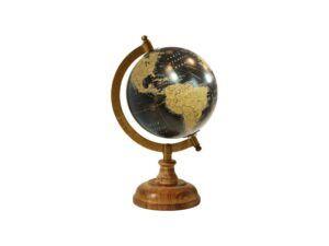 Globus med træfod 23cm black