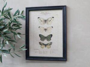 Billede med sommerfuglemotiv