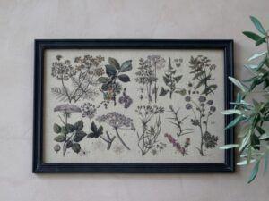 Billede med plantemotiv