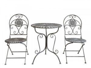 Cafésæt m. 2 stole og 1 bord