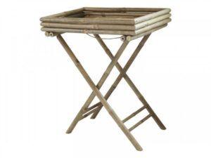 Lyon bakkebord i bambus