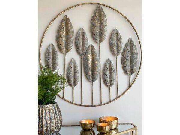 Leaf vægdekoration