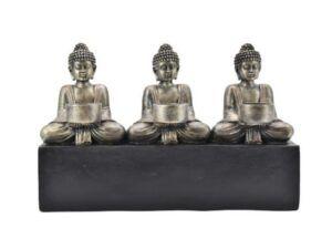 Buddhaer med fyrfad