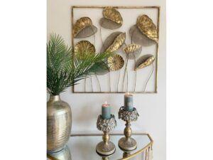 Leaf vægdekoration Guld