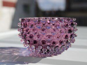 Anna Von Lipa Tapas krystalskål Light Violet