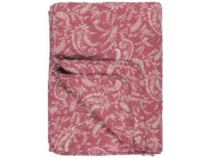 Quilt pink paisley