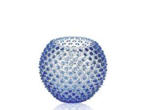Anna Von Lipa krystal vase Light Blue