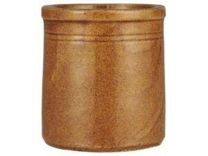 Gammel indisk krukke 11 cm