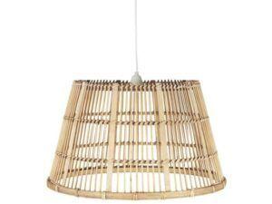 Ib Laursen Loftlampe bambusskærm Ø: 60 cm
