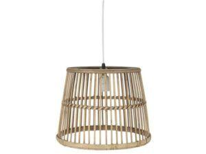 Ib Laursen Loftlampe bambusskærm