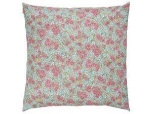 Ib Laursen Pudebetræk m/pink og turkis blomster