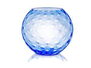Anna Von Lipa Olive Sphere vase Sky Blue