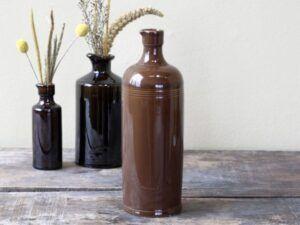 Chic Antique Gl. fransk flaske 26 cm