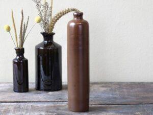 Chic Antique Gl. fransk flaske 28 cm