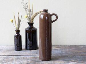 Chic Antique Gl. fransk flaske 31 cm